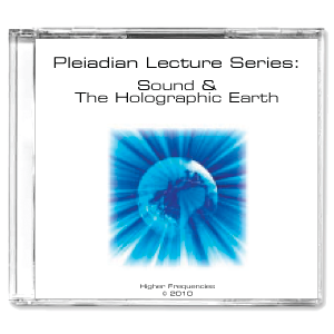 CD Image - Sound & The Holographic Earth